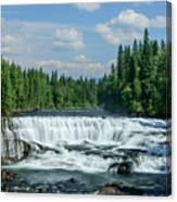 Northern Waterfall Canvas Print