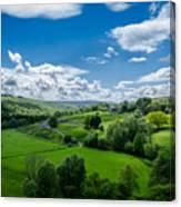 Northumberland Landscape Canvas Print