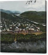 Northumberland On The Susquehanna River Canvas Print