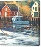 Northwest Cove, Nova Scotia Canvas Print