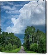 Northwoods Road Trip Canvas Print