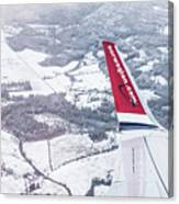 Norwegian Aerial Canvas Print