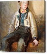 Norwegian Boy Canvas Print