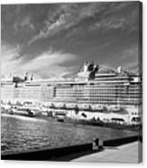 Norwegian Epic Visit Canvas Print