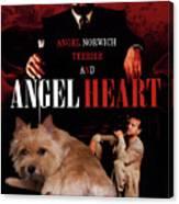 Norwich Terrier Art Canvas Print - Angel Heart Movie Poster Canvas Print