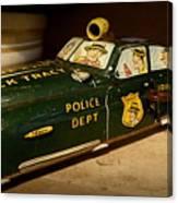 Nostalgia - Wind Up Car Toy Canvas Print