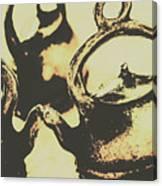 Nostalgic Tea Break Canvas Print