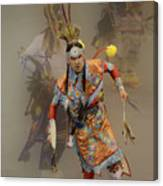 Pow Wow Not Alone Canvas Print