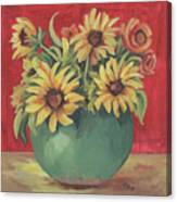 Not Just Sunflowers Canvas Print
