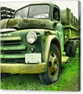 Nothng Like An Old Dodge Canvas Print