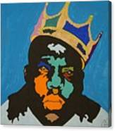Notorious B I G Canvas Print
