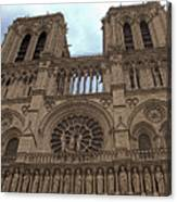 Notre-dame Cathedral Canvas Print