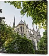 Notre Dame Cathedral - Paris, France Canvas Print