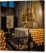 Notre Dame Chapel Canvas Print