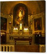 Notre-dame-de-bon-secours Chapel Canvas Print