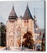 Notre Dame De La Couture Canvas Print