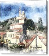 Notre Dame De La Garde-marseille Canvas Print
