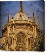 Paris, France - Notre-dame De Paris - Apse Canvas Print