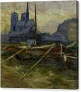 Notre-dame De Paris Canvas Print