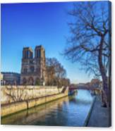 Notre Dame Of Paris  Canvas Print