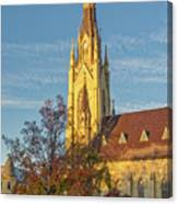 Notre Dame University Basilica Of The Sacred Heart Canvas Print