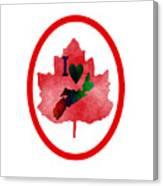 Nova Scotia Proud Canvas Print