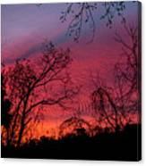 November 2016 Sunrise Canvas Print