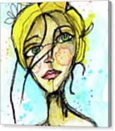 November Jane Canvas Print