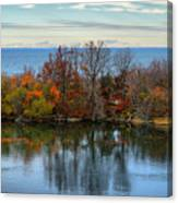 November Reflections Canvas Print