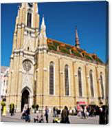 Novi Sad Cathedral Canvas Print