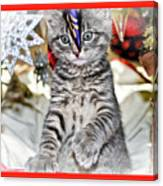 Now Where Did That Ornament Go I Just Saw It A Second Ago Canvas Print