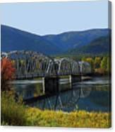 Noxon Bridge Canvas Print