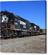 Ns 5066 And A B32-8 11 Canvas Print