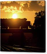 Ns Local At Sunset Canvas Print