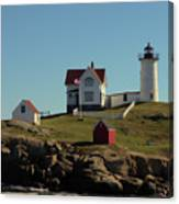 Nubble Light 4 Canvas Print