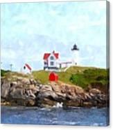 Nubble Light Nlwc Canvas Print