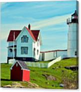 Nubble Lighthouse II Canvas Print