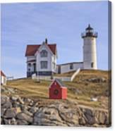 Nubble Lighthouse York Maine Canvas Print