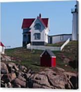 Nubble Point Lighthouse Canvas Print
