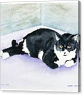 Nubby Canvas Print