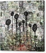 Nuclear Garden Canvas Print