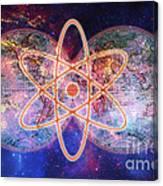 Nuclear World Canvas Print
