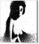 Nude 0938 Canvas Print
