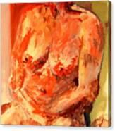 Nude 1.0 Canvas Print
