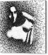 Nude 1045 Canvas Print