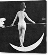 Nude Allegory, 1890s Canvas Print