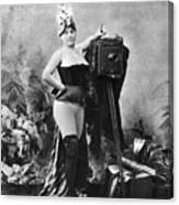 Nude And Camera, C1880 Canvas Print