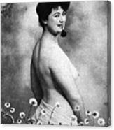 Nude And Flowers, 1903 Canvas Print