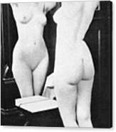 Nude And Mirror, 1902 Canvas Print