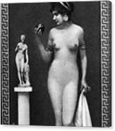 Nude As Aphrodite, C1900 Canvas Print